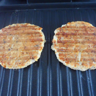 Lowfat Salmon Patties George Foreman Grill