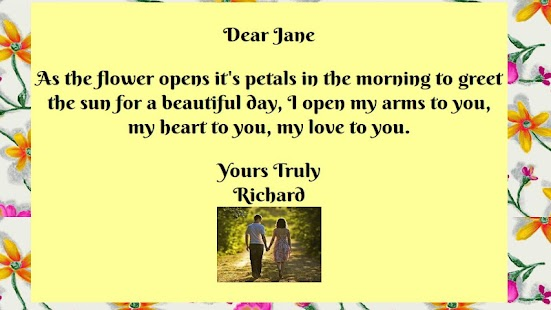 Love Letter eCards- screenshot thumbnail
