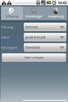 Screenshot of Fahrtenbuch For Android
