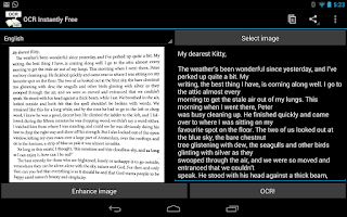 Screenshot of OCR Instantly Free