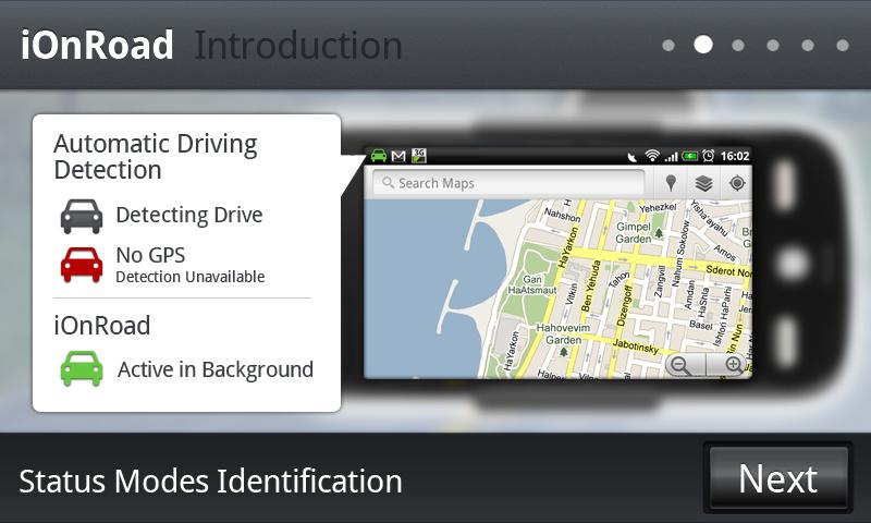 iOnRoad Augmented Driving Lite - screenshot