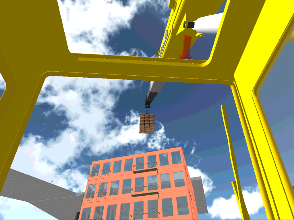 Crane Driving Simulator 3D - screenshot