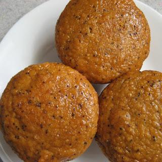 Lemon Poppyseed Chickpea Muffins.