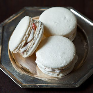 Classic French Macaron with Vanilla Buttercream Filling.