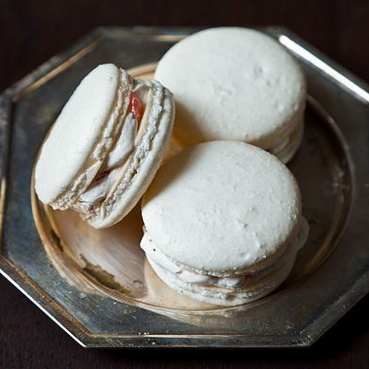 Classic French Macaron with Vanilla Buttercream Filling Recipe