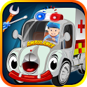 Ambulance Wash & Garage - cars icon