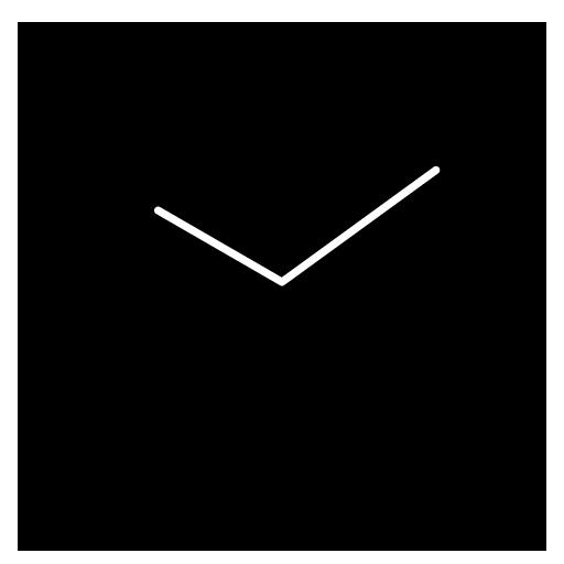 Flat design clock B -MeClock