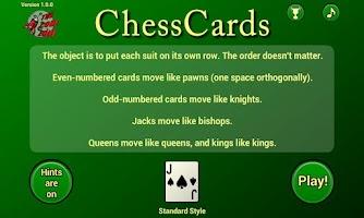 Screenshot of ChessCards