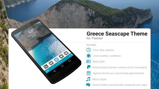 Greece Seascape Theme
