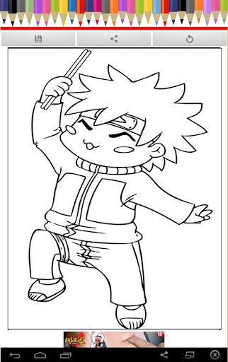 Coloring Book Little Ninja