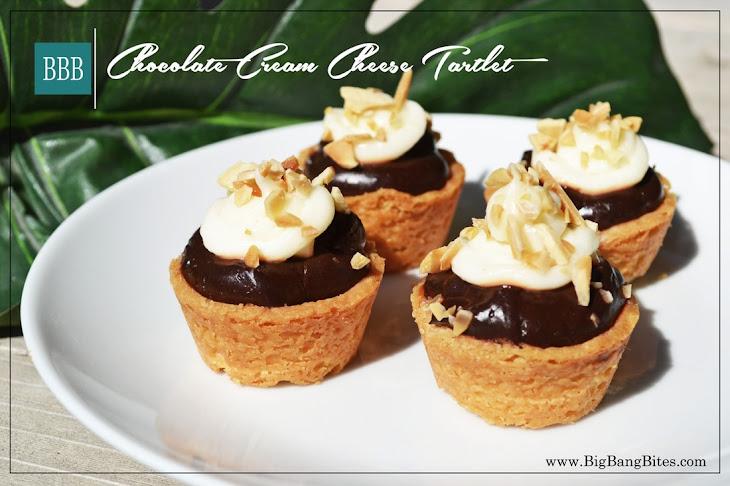 Chocolate Cream Cheese Tartlet Recipe
