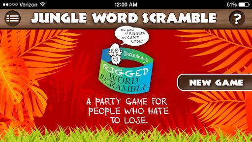 Rigged Word Scramble