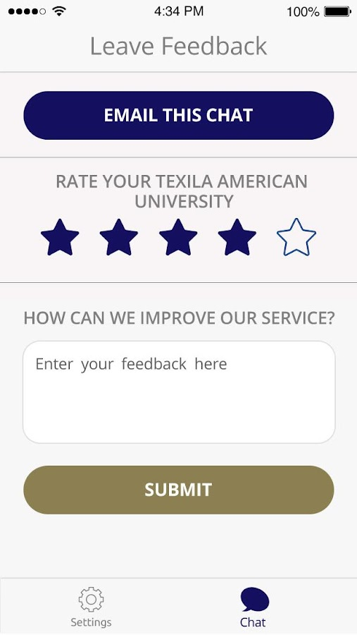 Texila- Mobile Chat App- screenshot