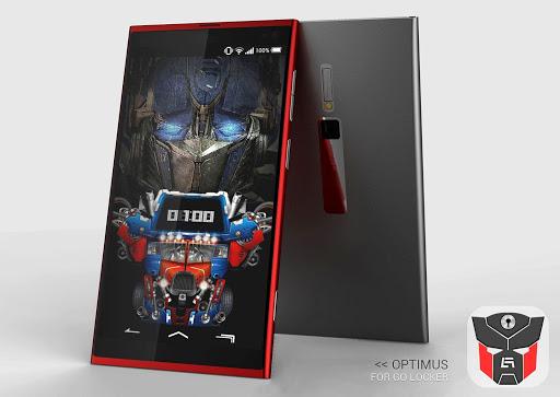 Optimus theme GO Locker