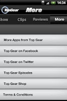 Screenshot of Top Gear - News