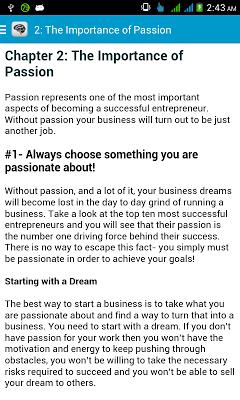 Entrepreneur Mindset - screenshot