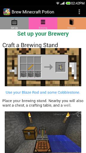 Brew Minecraft Potion
