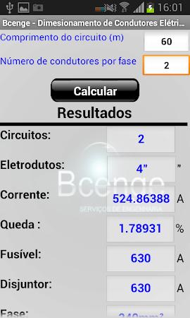 Cálculo - Condutores Elétricos 1.1 screenshot 1298944