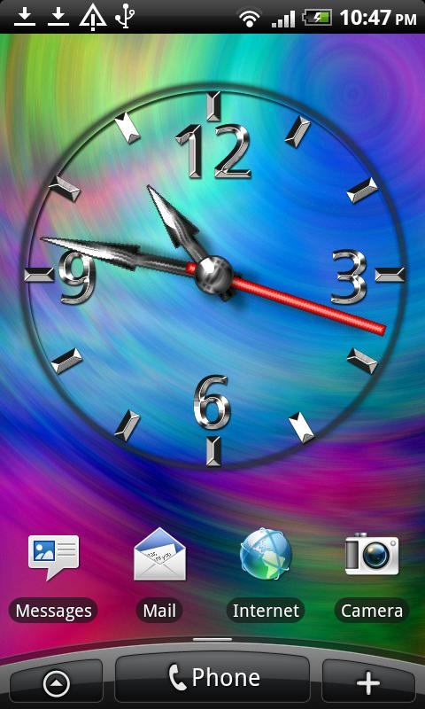 Cool Clock FREE- screenshot