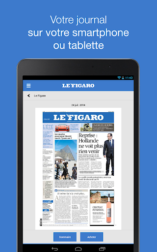 Le Figaro: Journal Magazines