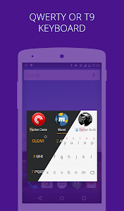 AppDialer Pro search on phone v5.7-release