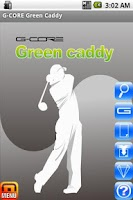 Screenshot of G-CORE Green Caddy Golf
