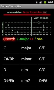 Guitar Chords Lite- screenshot thumbnail
