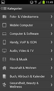 Pocket Preise - Preisvergleich - screenshot thumbnail