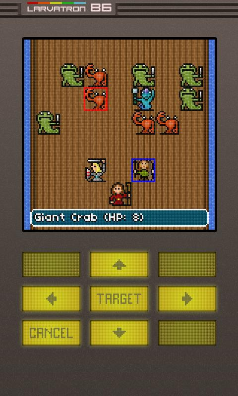Gurk II, the 8-bit RPG - screenshot