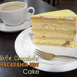White Chocolate Macadamia Cake Recipes.