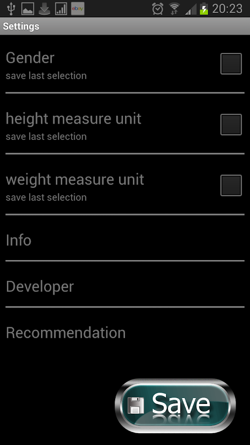iWeight FREE - Weight Control- screenshot