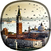 Rainy Venice Live Wallpaper