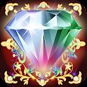 Jewels Blitz Gold Hexagon icon