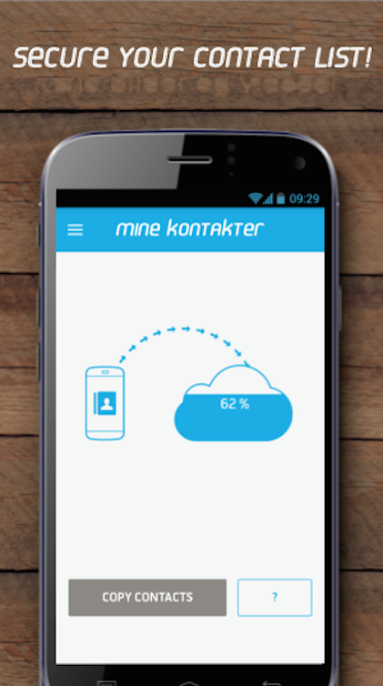 Mine Kontakter- screenshot
