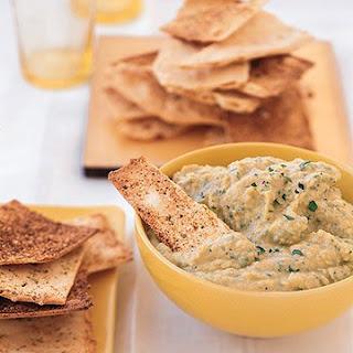 Garlicky Hummus.