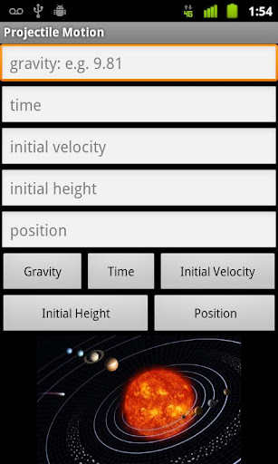 Projectile Motion Calculator