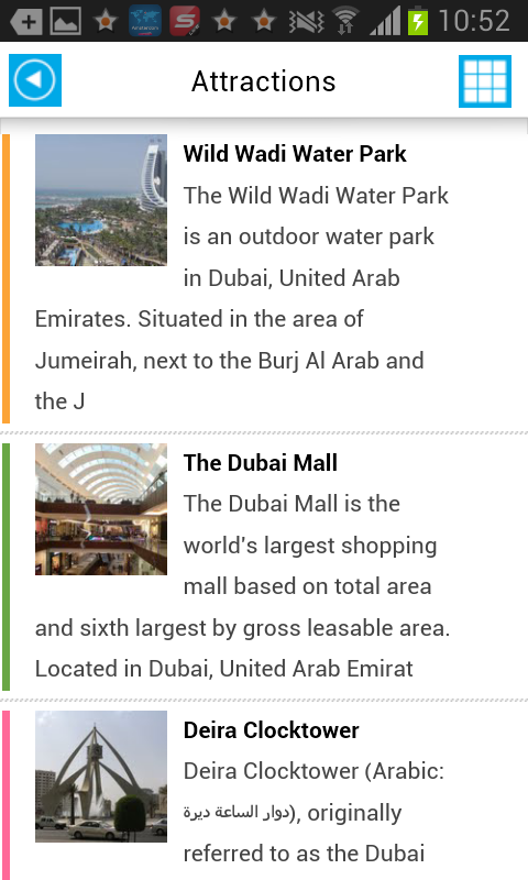 Dubai Offline Map Guide Hotels- screenshot