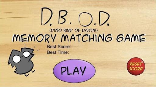 DBOD Memory Matching Game FREE