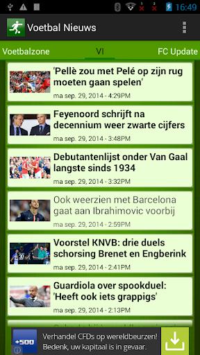 Voetbal Nieuws