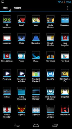【免費個人化App】Darkness Icons [Apex+Nova]-APP點子