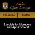 Zarka Cigar Lounge logo