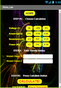 The Electricians Calculator screenshot 1