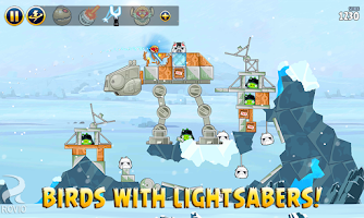 Screenshot of Angry Birds Star Wars HD
