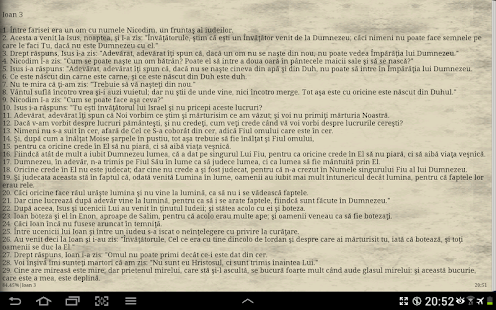 Biblia Cornilescu- screenshot thumbnail