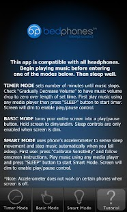 Bedphones Music Controller - screenshot thumbnail