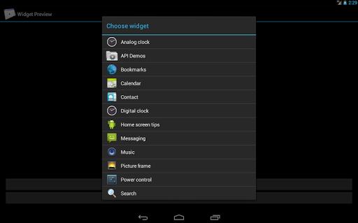 Widget Preview App