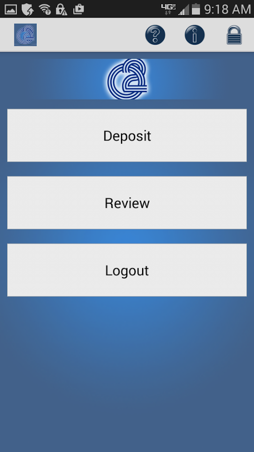 O2 Mobile Deposit - screenshot