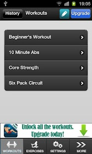 Ab Exercise Workout Free