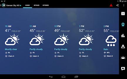 1Weather:Widget Forecast Radar Screenshot 3