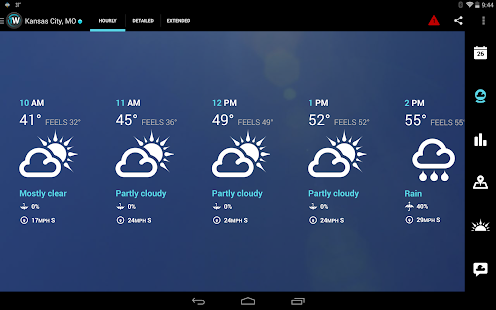 1Weather:Widget Forecast Radar Screenshot 16